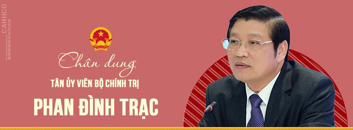 Chân dung tân Ủy viên Bộ Chính trị Phan Đình Trạc