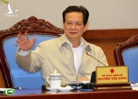 PM Nguyen Tan Dung speaks at the meeting