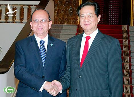 Prime Minister Nguyen Tan Dung and Myanmar President Thein Sein