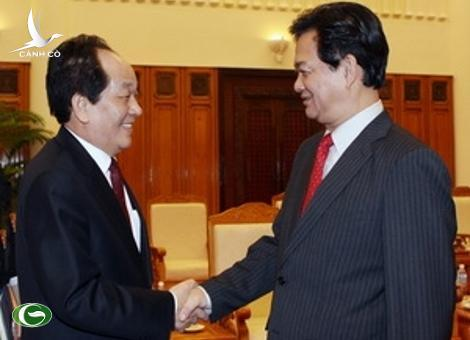Prime Minister Nguyen Tan Dung and the RoK MIFAFF Suh Kyo Yong