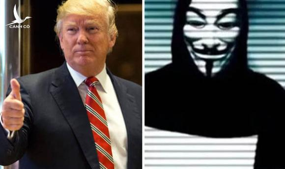 nhom hacker lung danh anonymous tuyen chien voi donald trump hinh anh 1