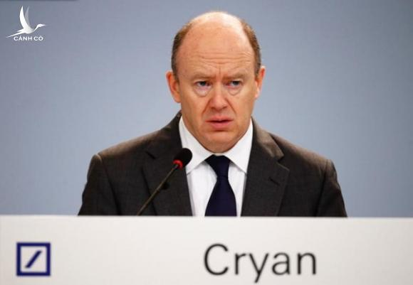 CEO Deutsche Bank John Cryan /// Ảnh: Reuters