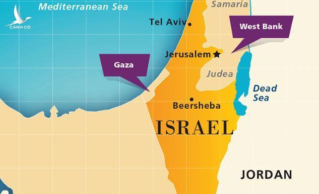 isreal-on-map