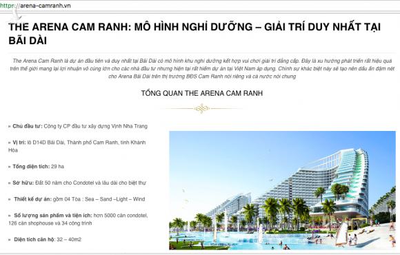 """chan dung """"ong chu"""" du an du lich nghi duong the arena cam ranh dang xay chui hinh anh 4"""