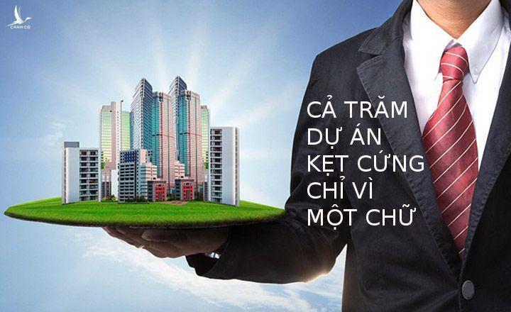 """Chỉ vì 1 chữ khác nhau trong các cụm từ """"chủ đầu tư"""" và """"nhà đầu tư"""" mà hàng trăm dự án tại TPHCM đang kẹt cứng."""