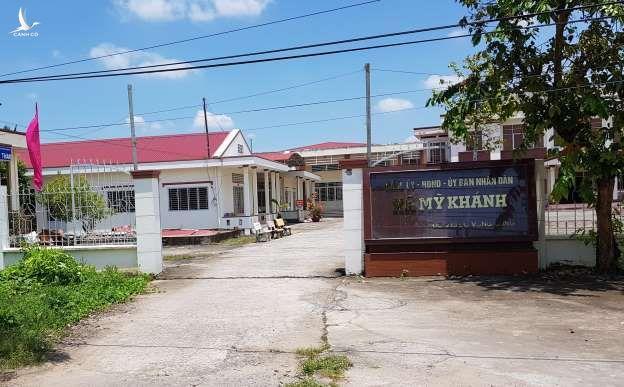 Trụ sở xã Mỹ Khánh, nơi ông Quang từng công tác