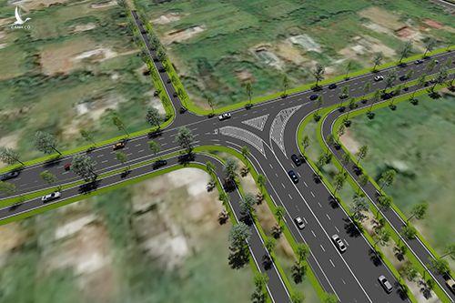 Phối cảnh cao tốc Cam Lộ - La Sơn. Ảnh: Bộ Giao thông Vận tải