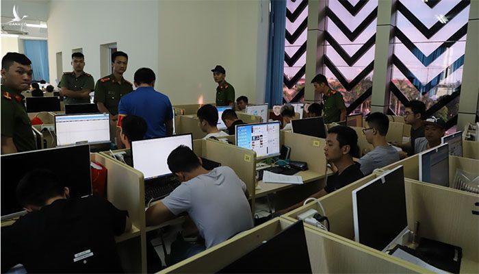 Lực lượng Công an tiến hành bắt giữ các đối tượng trong vụ án (Nguồn: BCA)