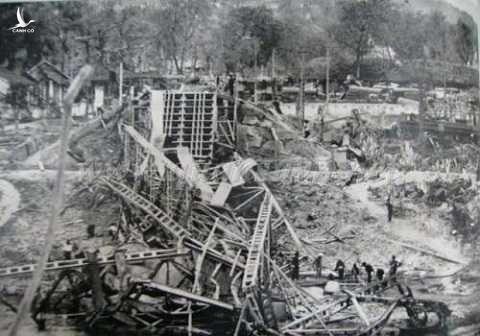 Cao Bằng bị tàn phá trong cuộc chiến 1979. Ảnh tư liệu