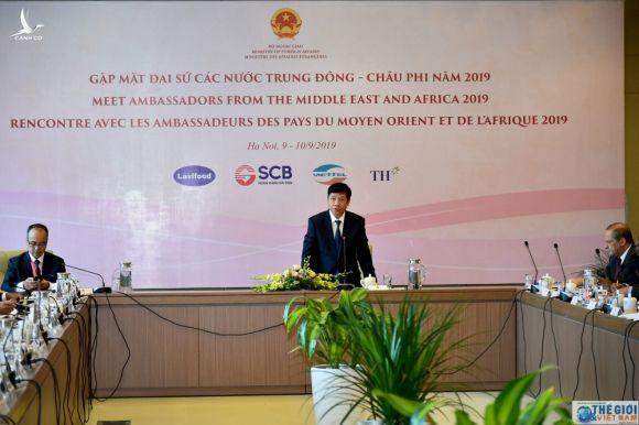 Gap go Dai su cac nuoc Trung Dong- chau Phi, doanh nghiep ho hoi: Chung toi nhin thay nhieu co hoi tot o Viet Nam hinh anh 1