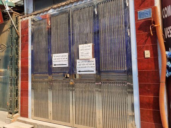 Hàng quán đóng cửa sang nhượng, dân quanh Công ty Rạng Đông thi nhau bán nhà 6