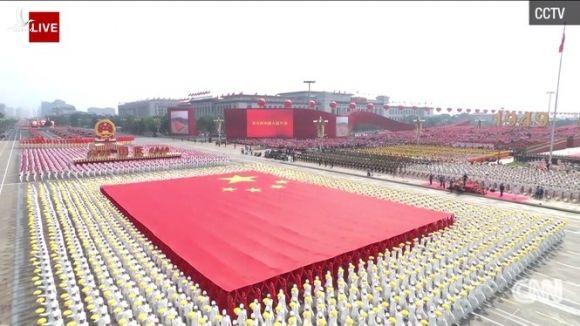 15.000 binh sĩ tham gia duyệt binh kỷ niệm 70 năm Quốc khánh Trung Quốc - ảnh 11