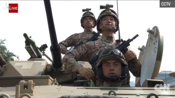 15.000 binh sĩ tham gia duyệt binh kỷ niệm 70 năm Quốc khánh Trung Quốc - ảnh 4