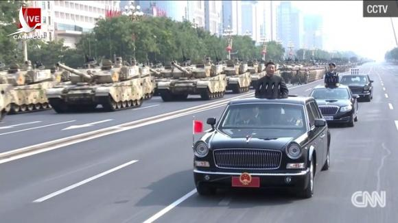 15.000 binh sĩ tham gia duyệt binh kỷ niệm 70 năm Quốc khánh Trung Quốc - ảnh 2
