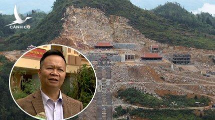 Bí thư huyện ủy Đồng Văn (Hà Giang) cho biết công trình tác động đến môi trường ở mức độ nhỏ, có thể khắc phục được, lâu dài sẽ trở lại tự nhiên.