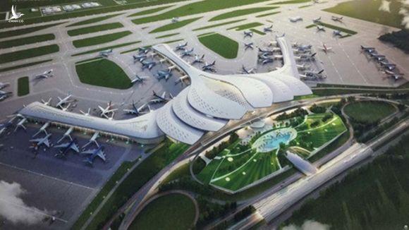 Sân bay Long Thành đang trong quá trình giải quyết thủ tục  /// Ảnh M.T