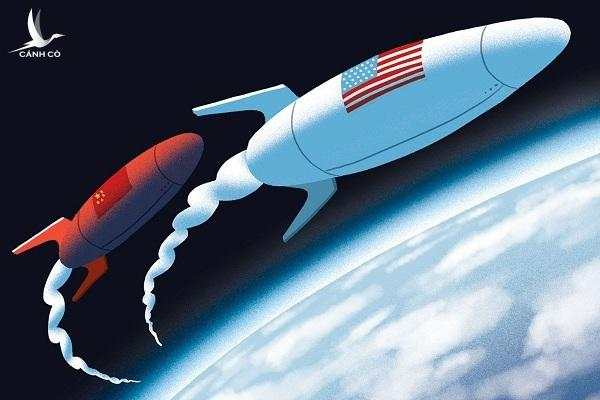 Trung Quốc trở thành mối đe dọa với Mỹ trong cuộc chiến tranh không gian.