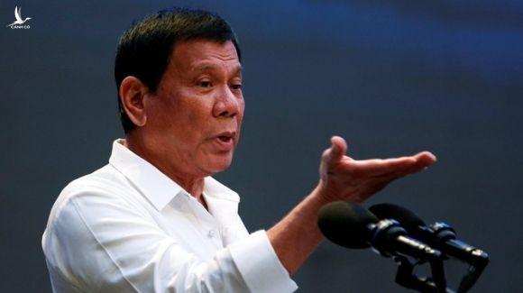 Tổng thống Duterte từng nhiều lần công khai chỉ trích các hành động của Mỹ (Ảnh: AP)