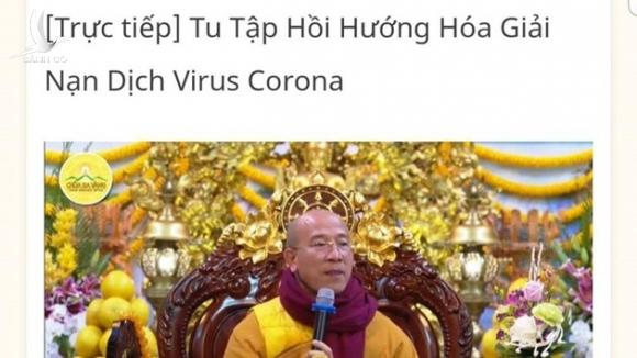 quang ninh thong tin vu viec chua ba vang chi cach hoa giai virus corona hinh 1