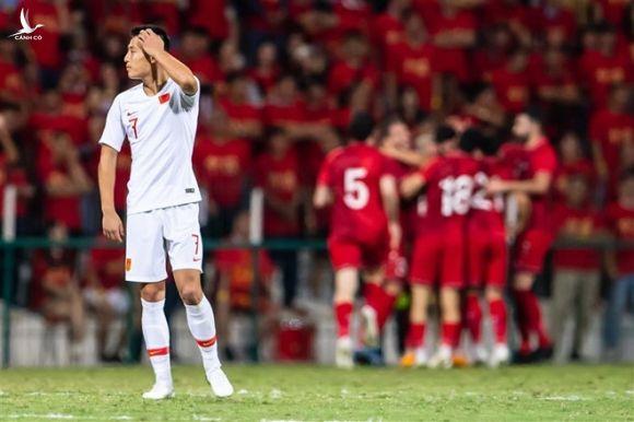 """Liên tiếp thất bại ở mọi đấu trường, mọi cấp độ đội tuyển cả nam và nữ, """"mộng bá chủ bóng đá thế giới 2050"""" của Trung Quốc ngày càng trở nên viển vông /// AFP"""
