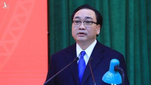 Ông Hoàng Trung Hải phát biểu tại buổi lễ /// Ảnh Trần Thường