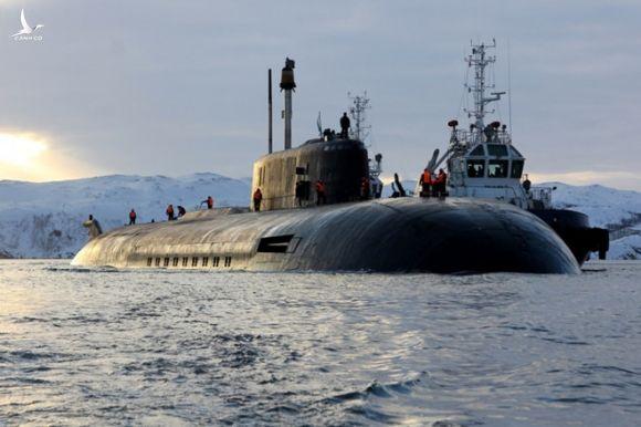 Tàu ngầm hạt nhân Orel thuộc Hạm đội Phương Bắc của Nga /// Bộ Quốc phòng Nga