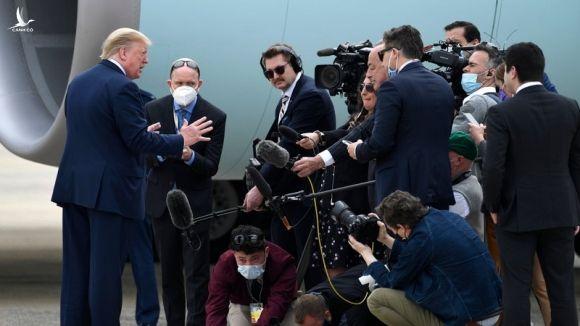 Ông Trump: Mỹ sẽ ra báo cáo chính thức về nguồn gốc COVID-19 - ảnh 1