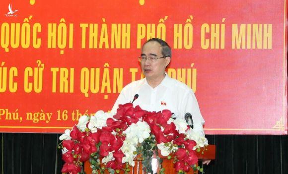 Bí thư Nguyễn Thiện Nhân nói về công tác cán bộ liên quan Khu đô thị mới Thủ Thiêm - Ảnh 1.