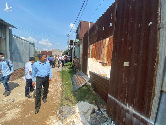Xây dựng không phép kế ngay Ban nhân dân nhưng không bị kiểm tra - ảnh 2