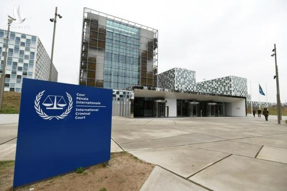 Bên ngoài trụ sở Tòa án Hình sự Quốc tế tại thành phố The Hague, Hà Lan /// Reuters