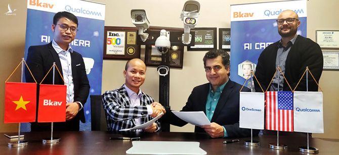 Bkav hợp tác với Qualcomm và OneScreen về camera giám sát.