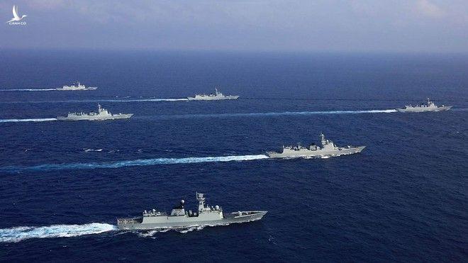 Hải quân Trung Quốc gần đây có nhiều động thái gây căng thẳng /// CHINAMIL
