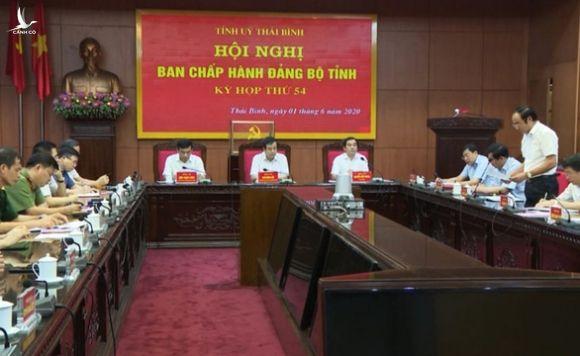 Ông Ngô Đông Hải làm bí thư Tỉnh ủy Thái Bình - Ảnh 2.