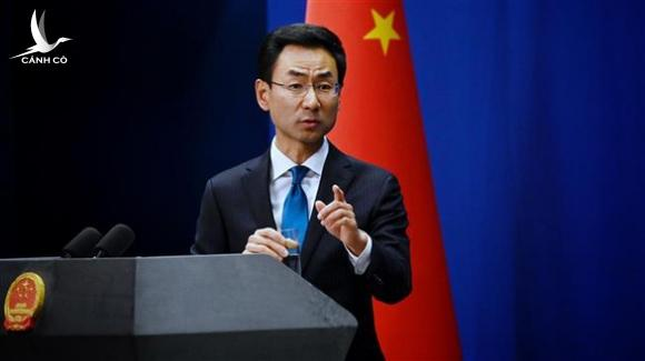 Ông Cảnh Sảng rời vị trí phát ngôn Bộ Ngoại giao Trung Quốc - Ảnh 1.