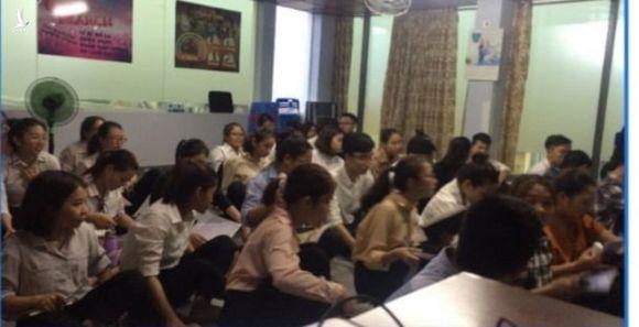 """Buổi học của """"team khởi nghiệp 360"""" /// Ảnh: Mã Phong"""