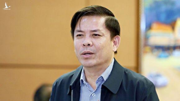 Bộ trưởng Bộ GTVT Nguyễn Văn Thể /// Ảnh Gia Hân