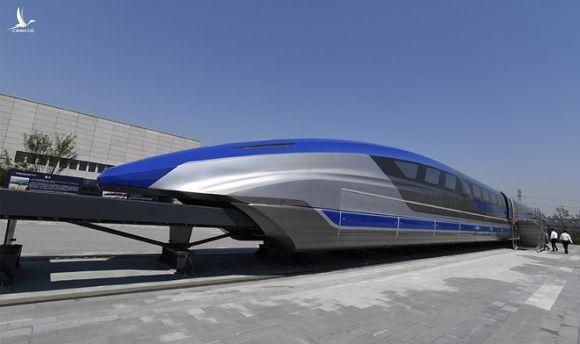 Trung Quốc chạy thử thành công tàu đệm từ tốc độ cao 600 km/h. - Ảnh 2.