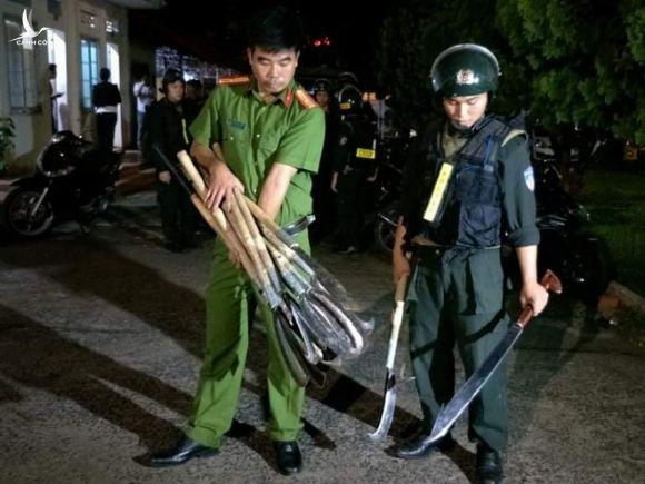 Đắk Lắk: Truy bắt hai nhóm thanh niên hỗn chiến trong đêm - ảnh 1