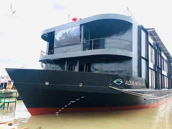 Tàu 5 sao đóng tại Việt Nam gia nhập du lịch sông Amazon