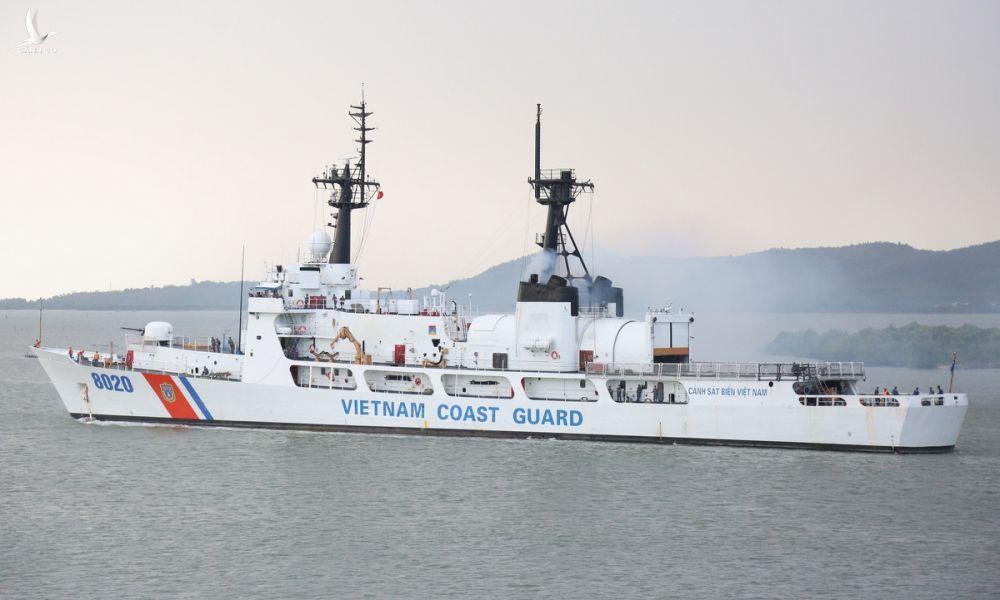 Tàu CSB-8020 được Mỹ chuyển giao cho Cảnh sát biển Việt Nam. Ảnh: Canhsatbien.vn.