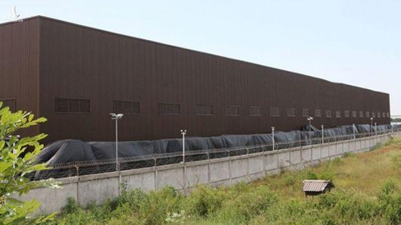 Kho nhôm của Công ty Nhôm Toàn Cầu ở Bà Rịa - Vũng Tàu /// Ảnh Ngọc Long