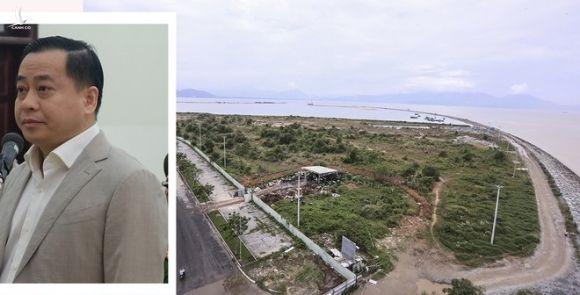 Dự án Khu đô thị Đa Phước bị Phan Văn Anh Vũ (ảnh nhỏ) thâu tóm /// Ảnh: Nguyễn Tú - Thái Sơn