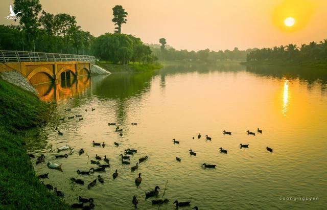 Khu đô thị xanh Ecopark, phía Đông Hà Nội. Ảnh: Cường Nguyễn