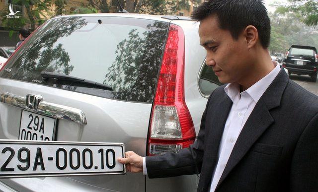 Bộ Công an sẽ sớm đấu giá biển số xe để người dân chọn số theo sở thích 1