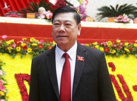 Ông Trần Văn Rón tái đắc cử Bí thư Tỉnh ủy Vĩnh Long - Ảnh 1.