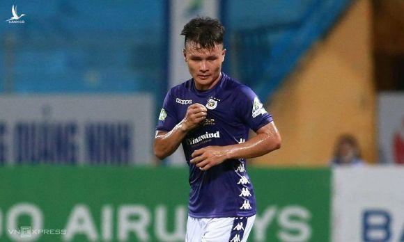 Quang Hải giải cơn khát bàn thắng trong năm 2020. Ảnh: Lâm Thỏa