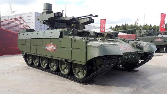 Uy lực xe chiến đấu 'Kẻ hủy diệt' của quân đội Nga