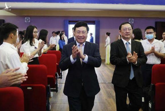 Phó thủ tướng Phạm Bình Minh: 'Công dân đám mây' thông thạo nhiều ngoại ngữ càng tốt - ảnh 1