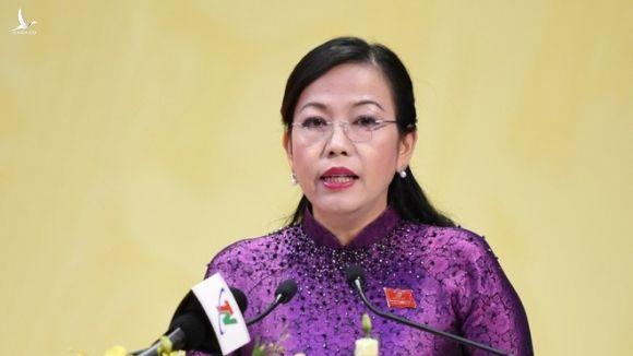Bà Nguyễn Thanh Hải được bầu làm Bí thư Tỉnh ủy Thái Nguyên /// Ảnh Gia Hân