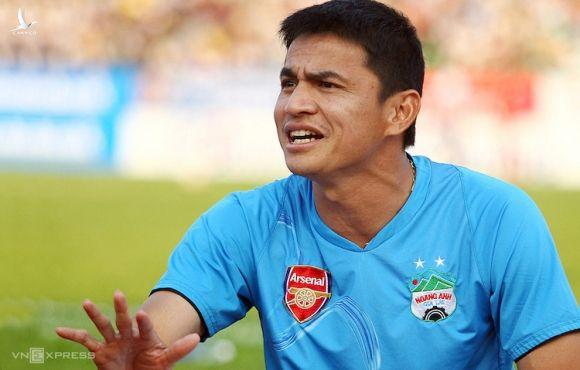 Kiatisuk muốn giúp HAGL trở lại đấu trường AFC Champions League. Ảnh: Đức Đồng.